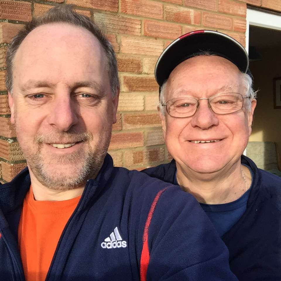 Can you Sponsor Ron and Steve running the BathHalf for HCA UK