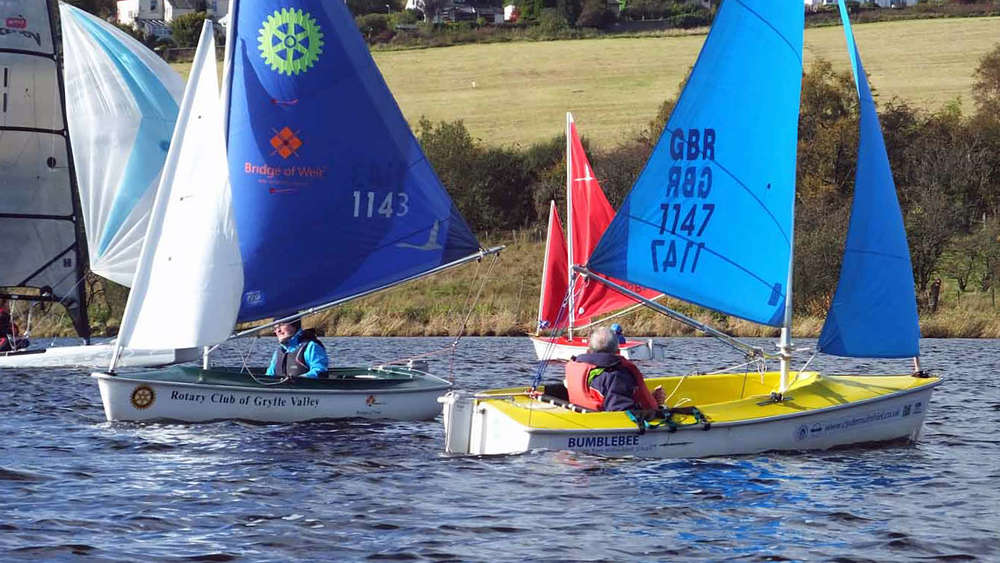 Clydemuirshiel - Multiclass Regatta (TT) 2019 Scottish TT No4 + Prize-Giving