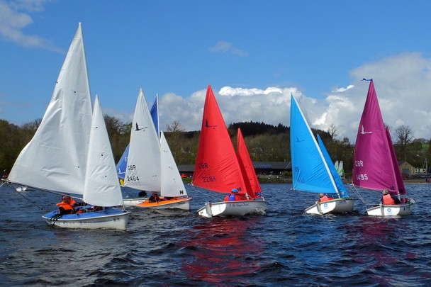 Clydemuirshiel Spring Regatta - 2019 Scottish Hansa TT Series No1