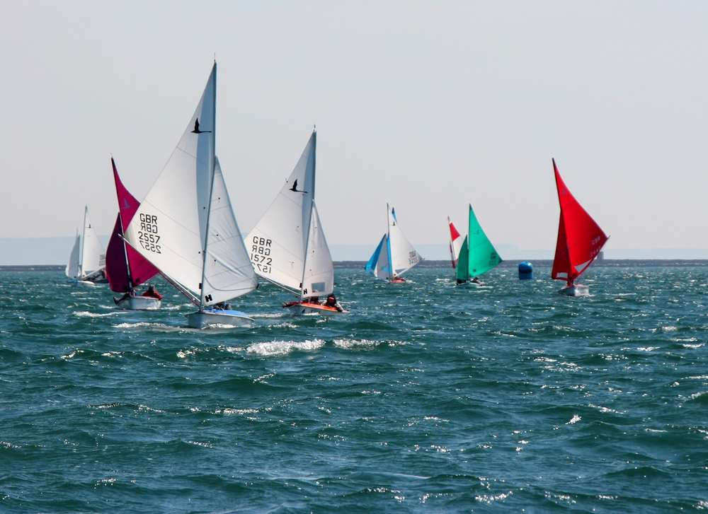 Hansa Class Training Event - Chesil - Weymouth & Portland National Sailing Academy