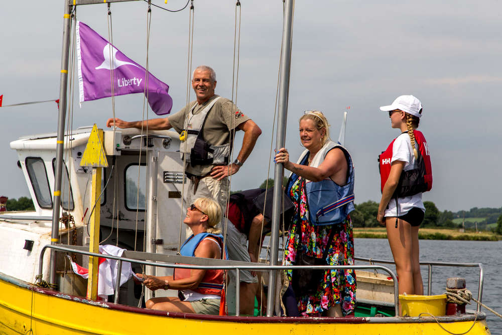 Hansa Class UK National Championships and International Open- Nott's County Sailability/SC