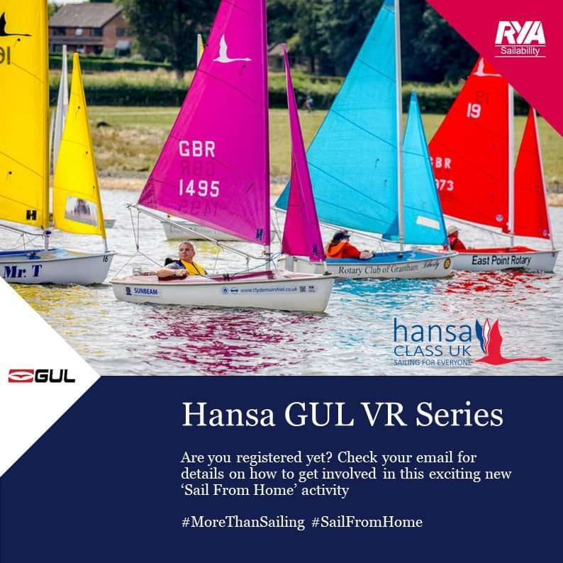 Hansa GUL VR Series-PRACTISE Race- Report and Results