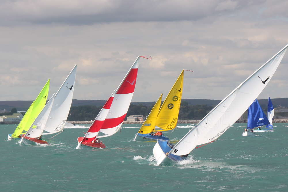 Weymouth Training for Worlds
